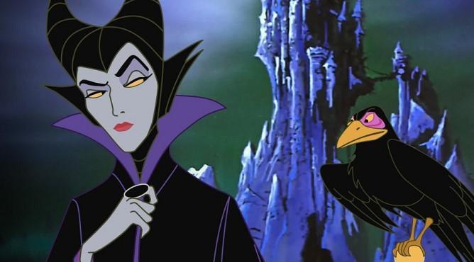 Злая королева из мультфильма «Спящая красавица»