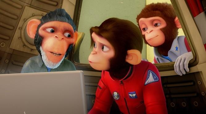 «Мартышки в космосе: Ответный удар 3D» (2010)