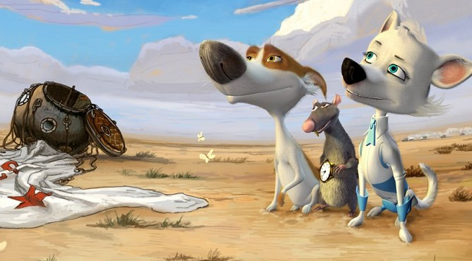 «Звездные собаки: Белка и Стрелка» (2010)