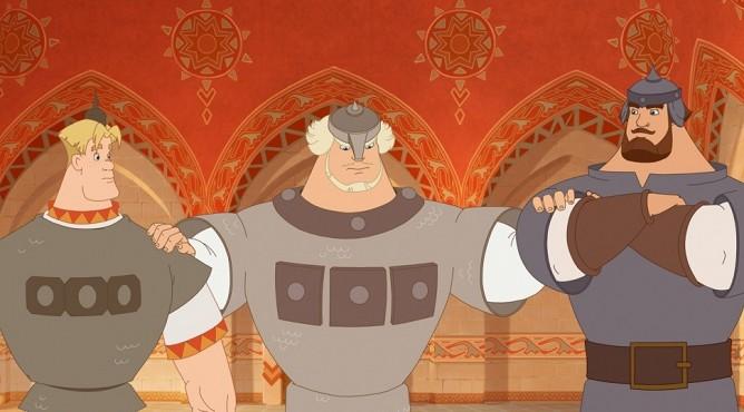 «Три богатыря и Шамаханская царица» (2010)