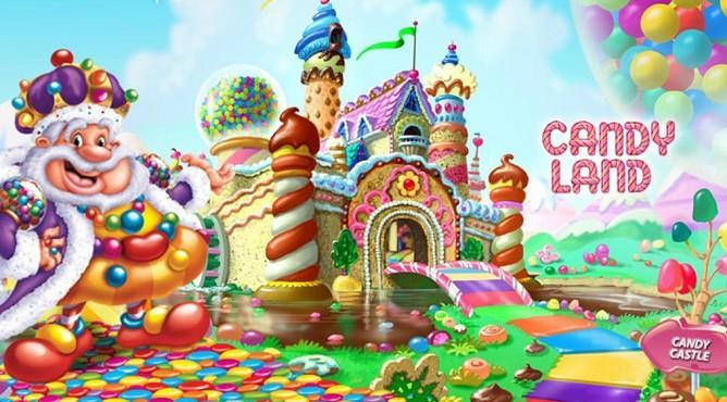 Город сладостей