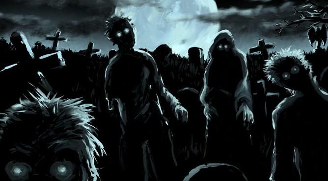 Результаты исследования «зомби-активности»